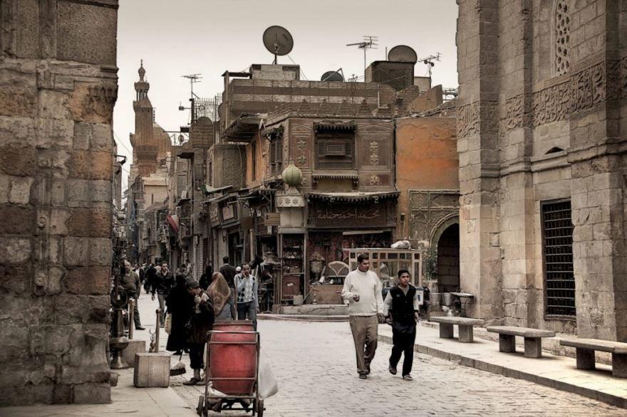 Улица город Каир 2019