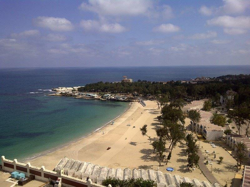 Пляж город Александрия