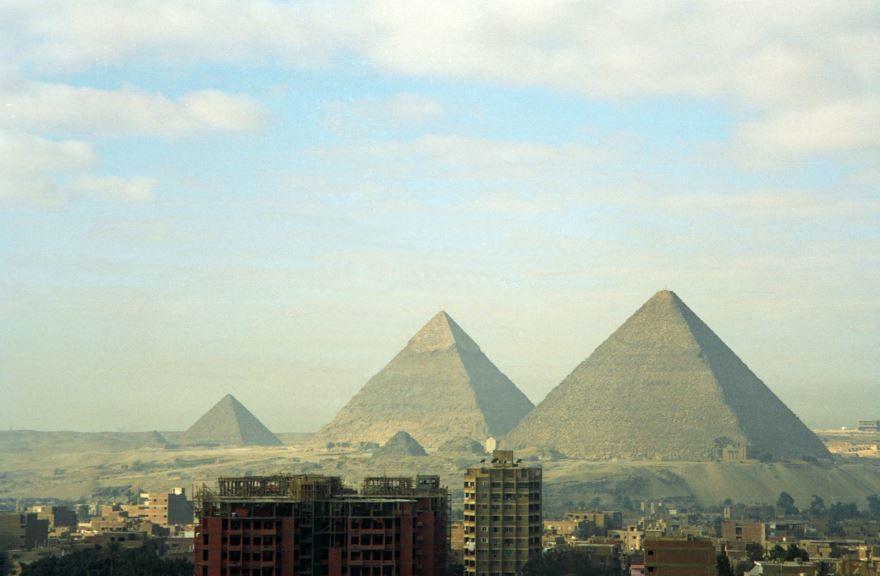 Фото города Гиза Египет