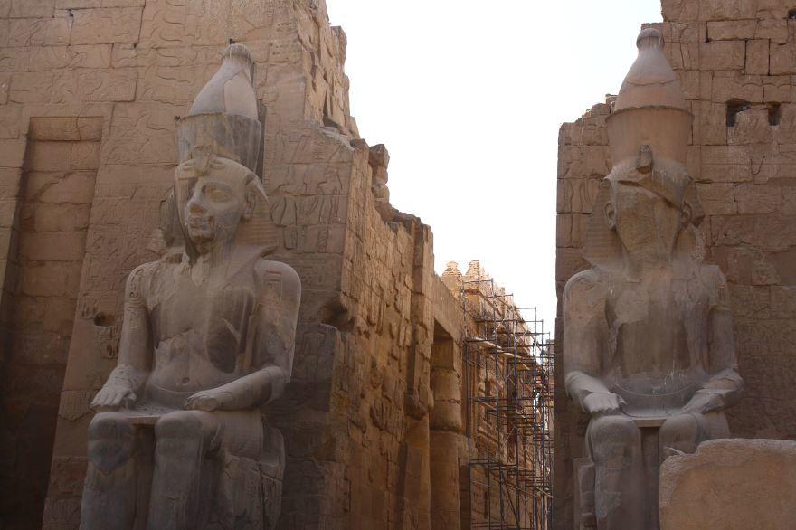 Фото города Луксор Египет