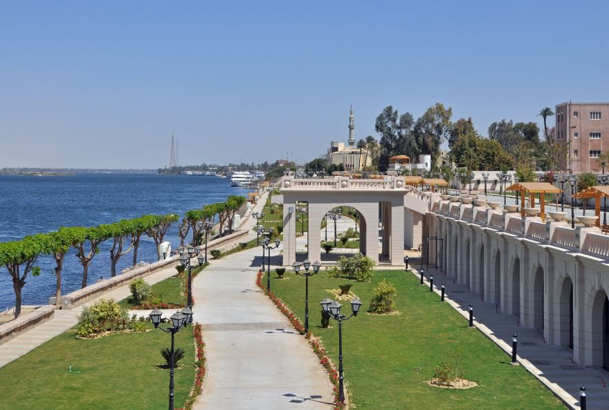 Набережная город Луксор