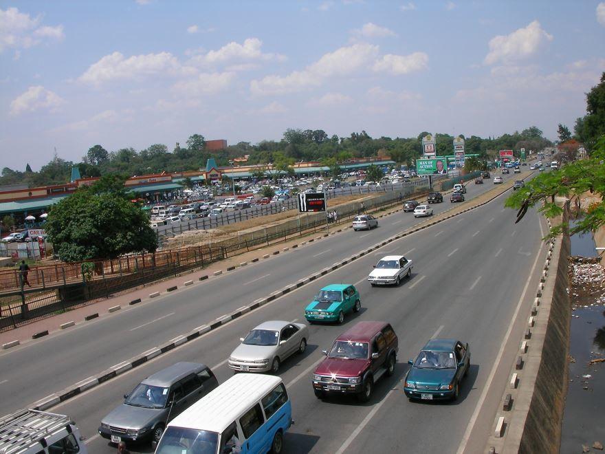 Фото города Лусака Замбия
