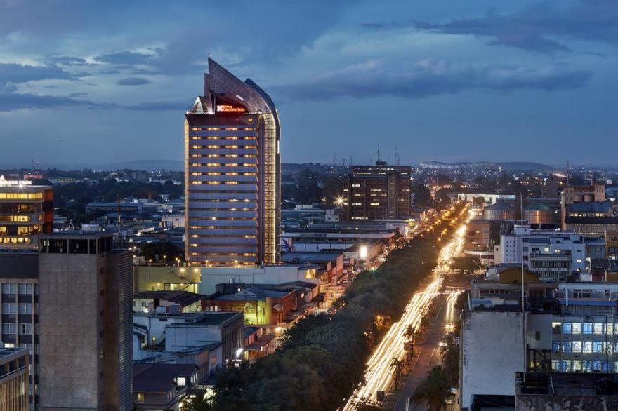 Вид на город Лусака