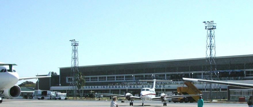 Аэропорт город Лусака