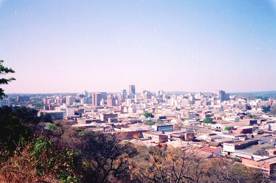 Панорама города Хараре 2019