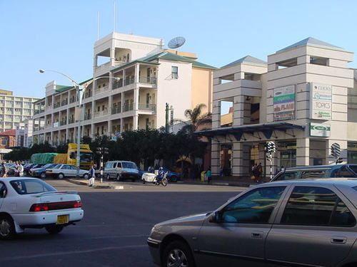 Улица город Булавайо