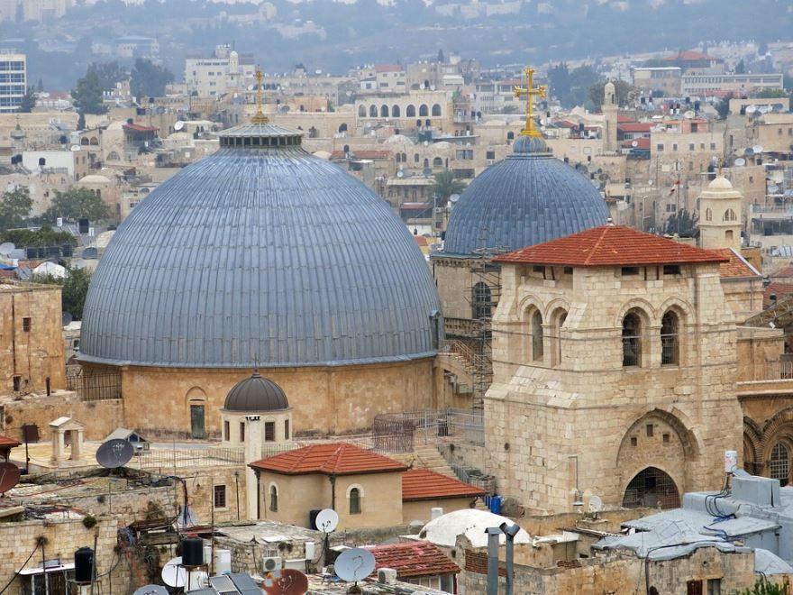 Мечеть город Иерусалим