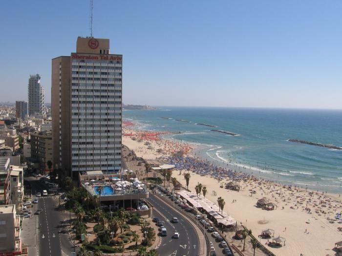 Фото города Тель-Авив Израиль