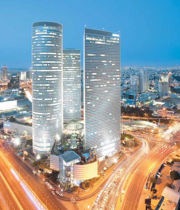 Панорама город Тель-Авив