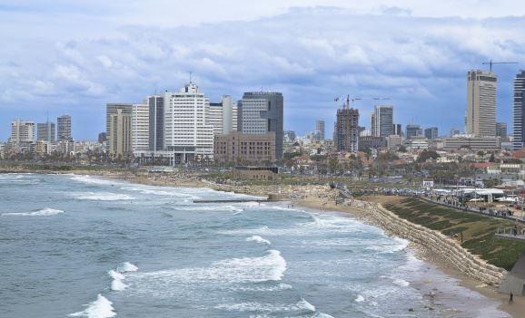 Побережье города Тель-Авив