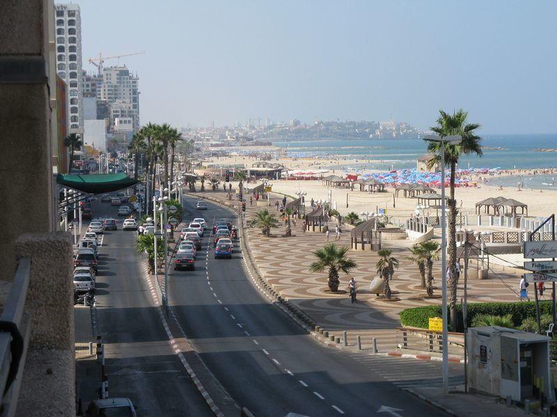 Вид города Тель-Авив