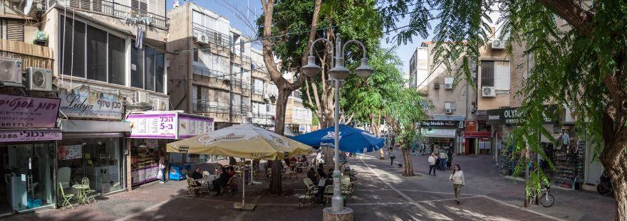 Улица города Петах-Тиква