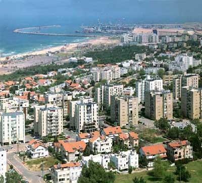 Панорама город Ашдод