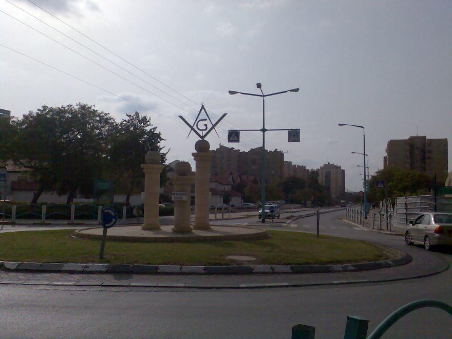 Улица город Беэр-Шева
