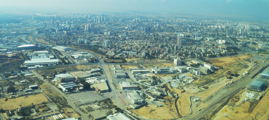 Панорама города Беэр-Шева 2019
