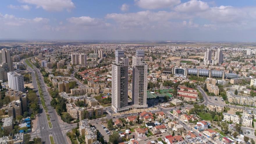 Панорама города Беэр-Шева