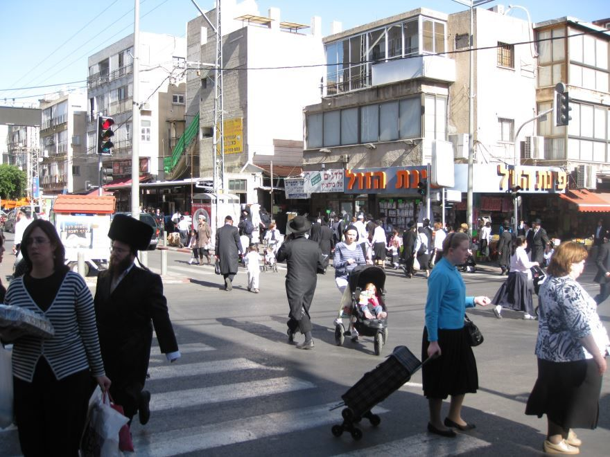 Фото города Бней-Брак Израиль