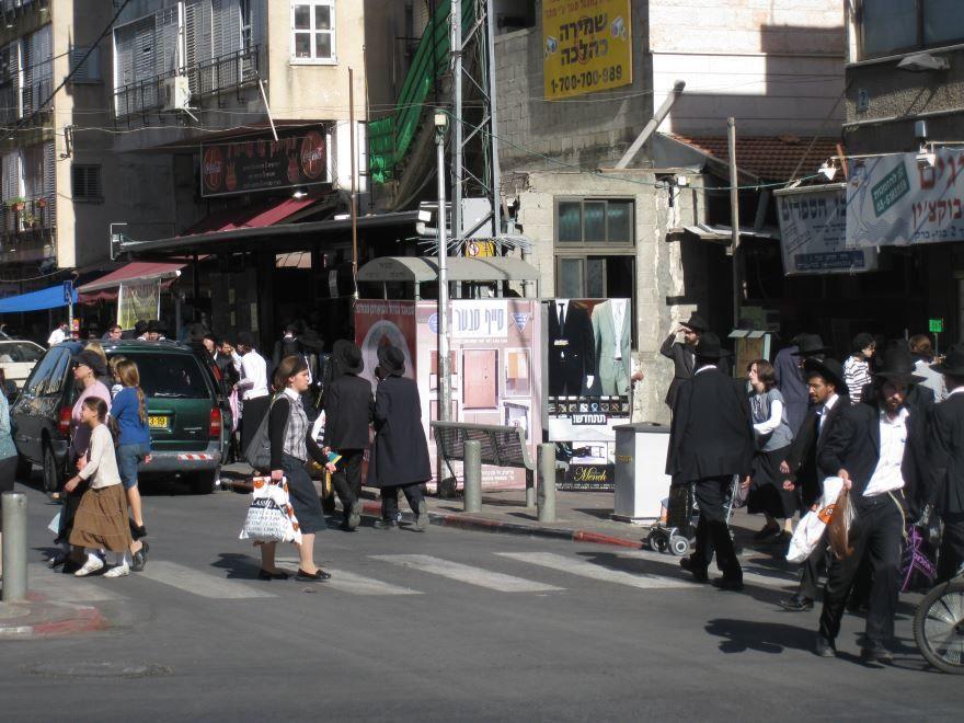 Улица города Бней-Брак Израиль