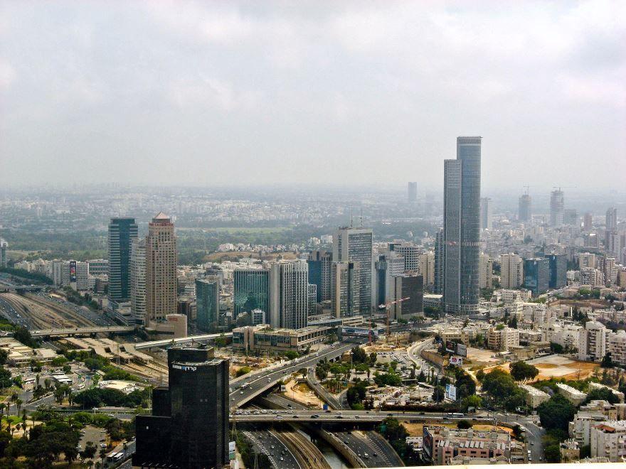 Панорама города Рамат-Ган
