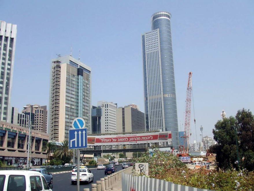 Улица города Рамат-Ган