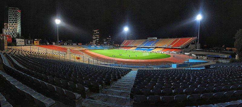 Стадион города Рамат-Ган Израиль