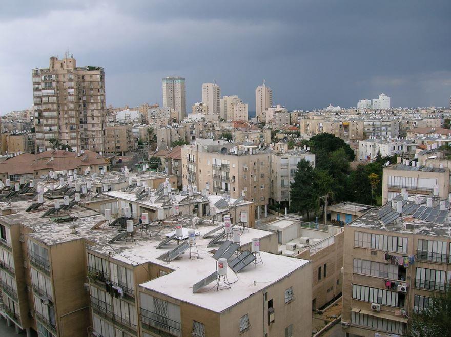 Фото города Бат-Ям Израиль