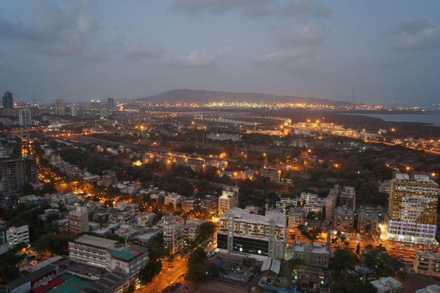 Панорама город Мумбаи