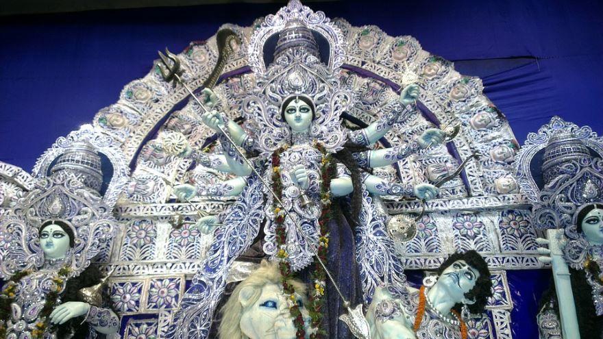 Священный бог город Калькутта