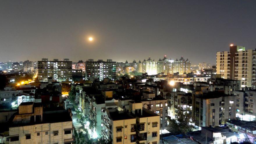 Панорама города Сурат