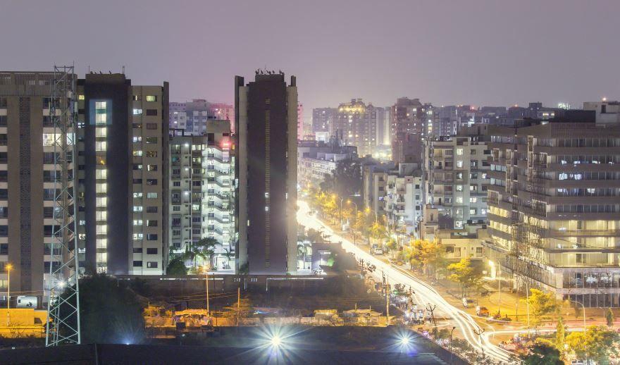 Вид на город Сурат