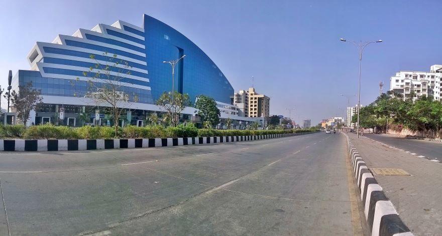Улица города Сурат Индия