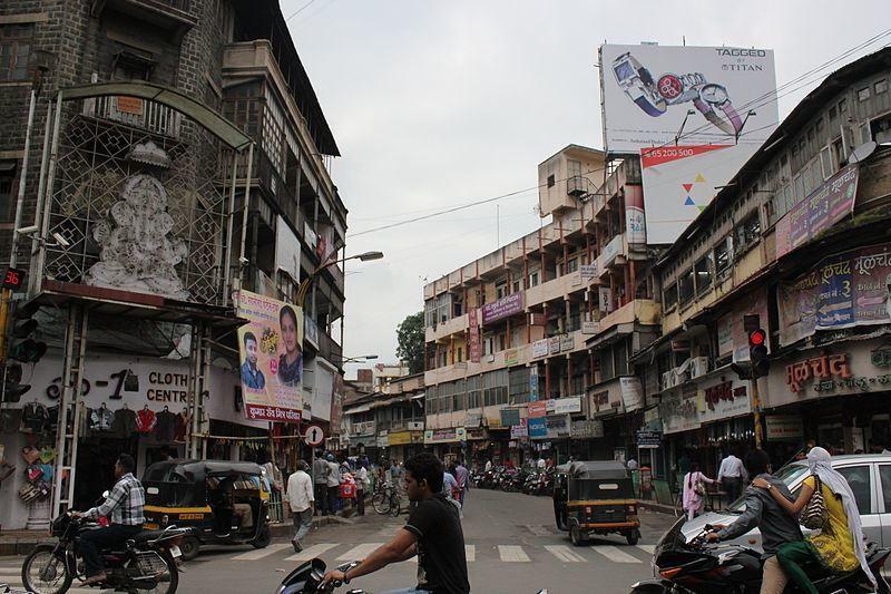 Улица город Пуна