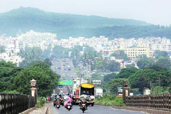 Смотреть красивое фото улица город Пуна