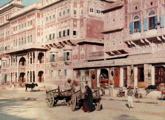 Улица город Джампур