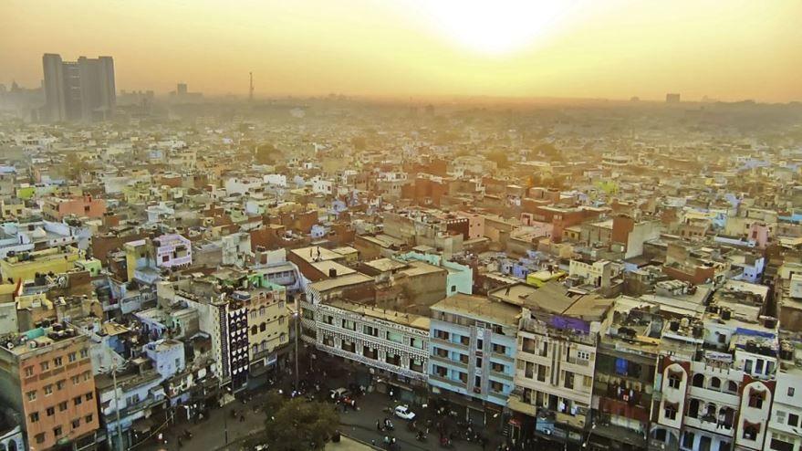 Панорама города Нагпур