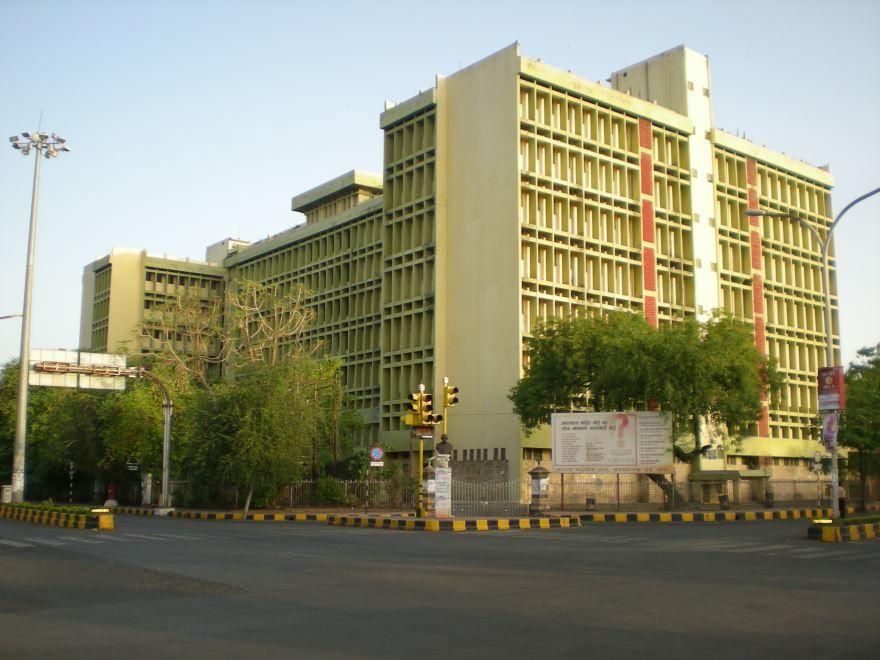 Улица города Нагпур Индия