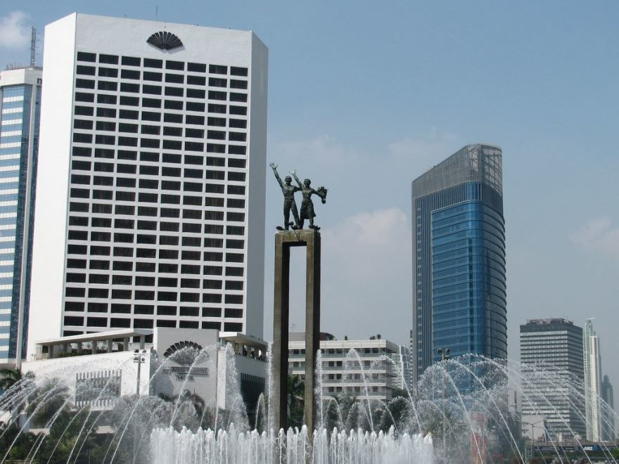 Фото города Джакарта Индонезия