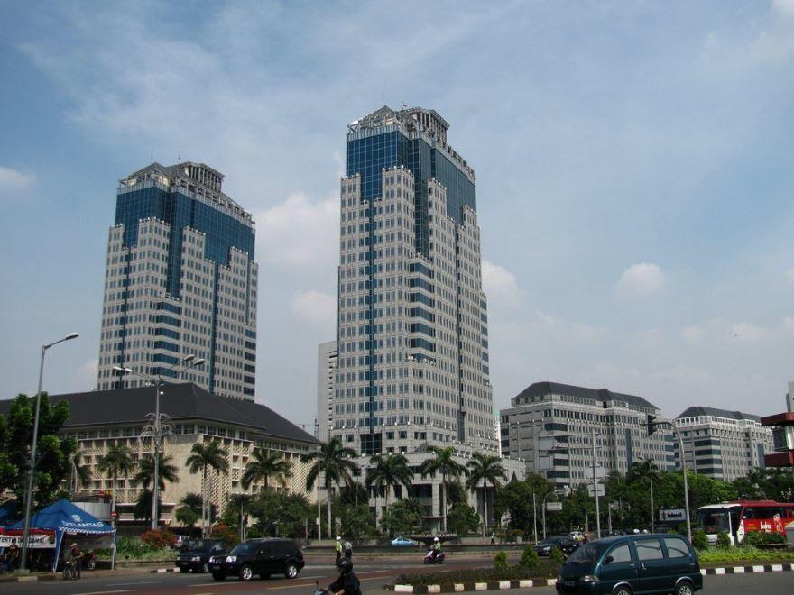 Смотреть красивое фото город Джакарта