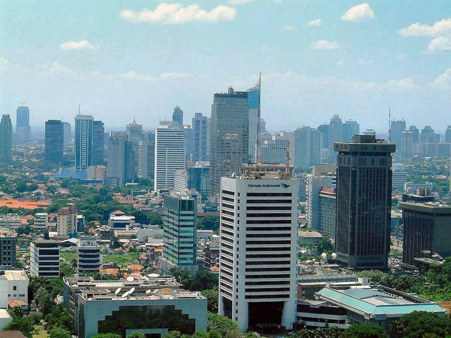 Панорама город Джакарта