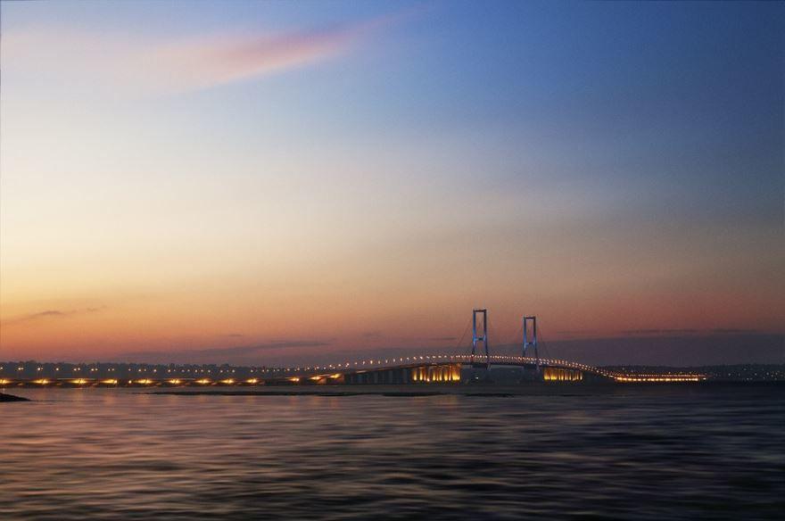 Мост город Сурабая