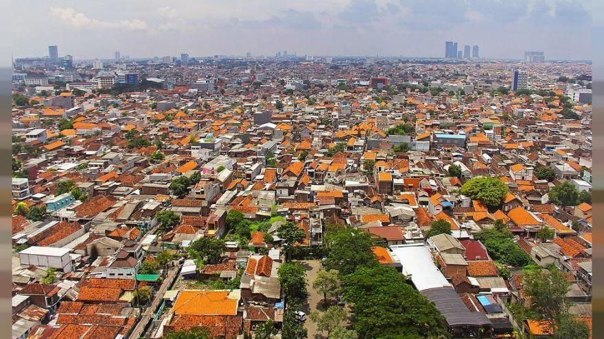 Панорама города Сурабая