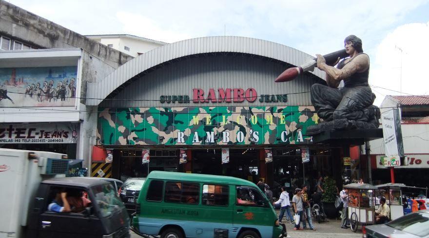 Фото города Бандунг Индонезия