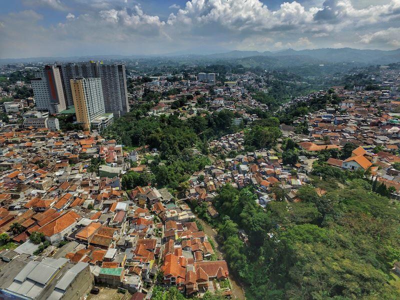 Панорама город Бандунг