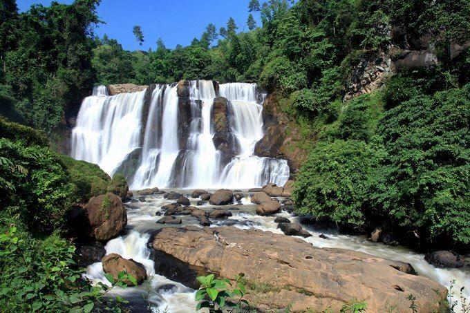 Водопад город Бандунг