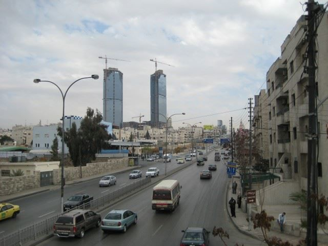 Фото города Амман Иордания