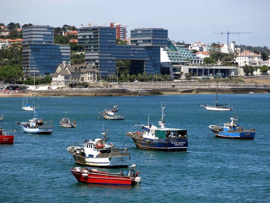 Смотреть красивое фото города Акаба с моря