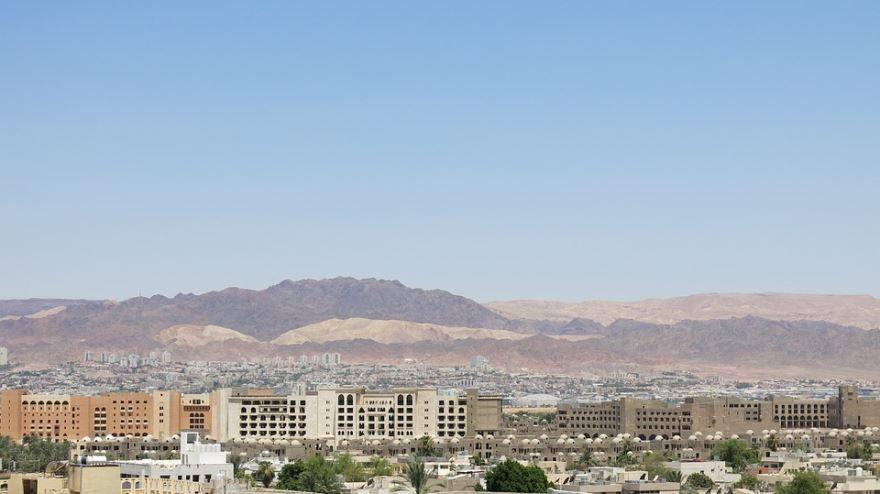 Панорама город Акаба