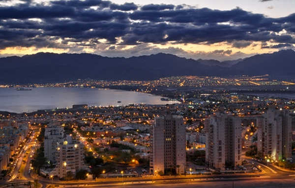Панорама города Акаба