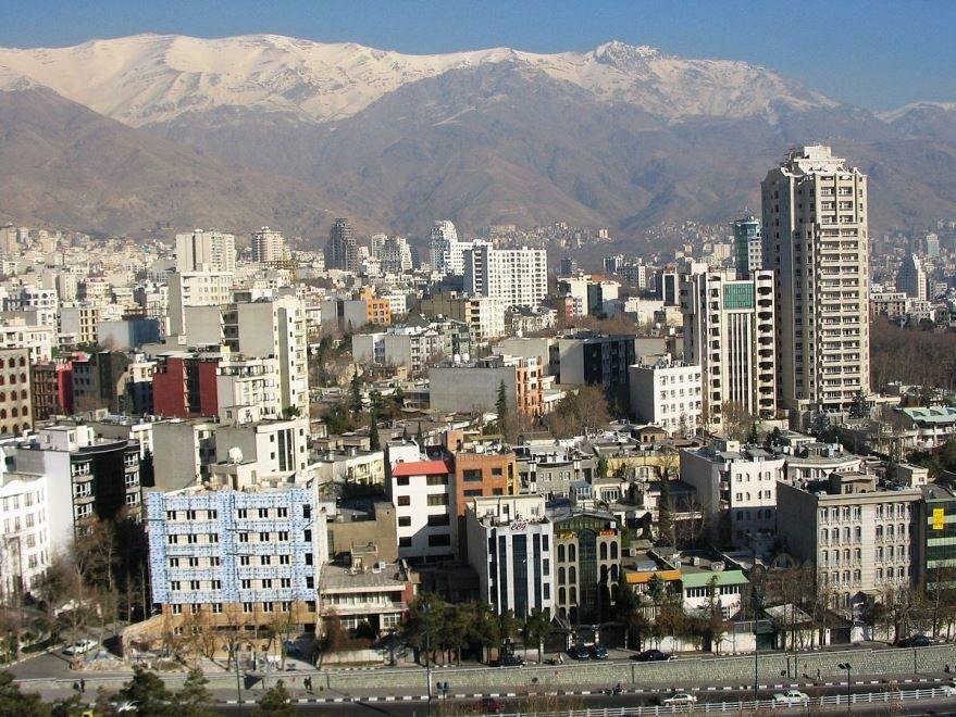 Смотреть красивое фото город Тегеран