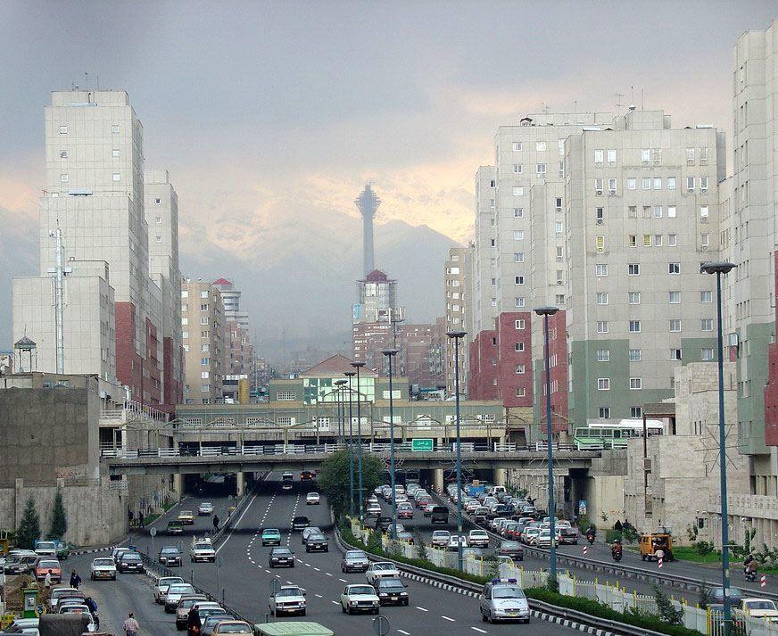 Фото города Тегеран Иран